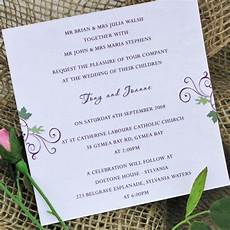simple invitations wedding invitation wording invitation wording wedding tips