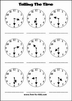 time worksheets hour and half past 3019 14 best images of half past clock worksheets half past telling time worksheets telling time