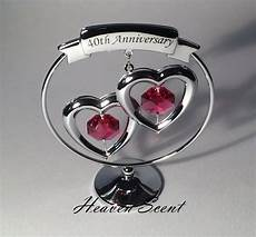 Ruby Wedding Anniversary Ideas