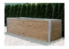 Hochbeet Holz Bausatz - hochbeet bausatz in holz alu ausf 252 hrung herb