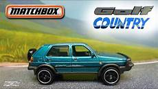 matchbox 90 vw golf country review detail