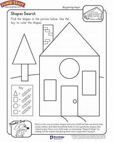 shape search free 1st grade math worksheet shapes worksheets preschool worksheets free