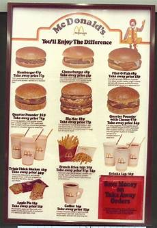 Mcdonalds Happy Meal Preis - mcdonald s uk menu from 1974 found guess how much a