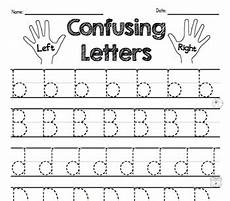 letter confusion worksheets 23036 reversal practice b d p letter discrimination worksheets by ms knopf
