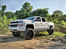 2016 Silverado With 75 Roughcountry Lift And RBP Glock