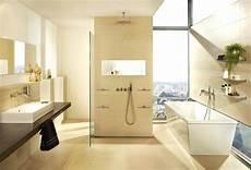 badezimmer fliesen sandfarben modern fliesen boden wand bad wohnbereich gems stilbild 01