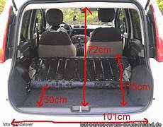 Fiat Panda Kofferraumvolumen - fiat panda baujahr 2012 kofferraumma 223 e