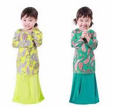 33 populer baju kurung batik kanak kanak