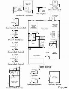centex house plans centex claypool floor plan great layout floor plans