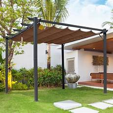 Pavillon Alu 3x4 - outsunny 3m x 3m aluminium canopy gazebo awning outdoor