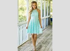 Mint Lace Bridesmaid Dresses 2017 Country Beach Weddings