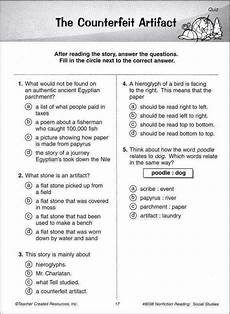 poetry comprehension worksheets for 7th grade 25251 7th grade reading comprehension worksheets homeschooldressage