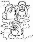 72 Best Furby Coloring Pages Images