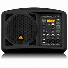 behringer b207 mp3 active pa speaker monitor at gear4music