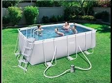 beste schwimmbecken mit pumpe bestway power steel