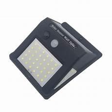 howpow waterproof 20led solar light solar power pir motion