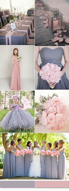 Pink And Gray Wedding Ideas