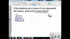 scale drawings and scale factors 7th grade math youtube