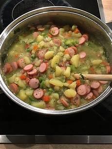 Berliner Kartoffelsuppe Rezept Kartoffelsuppe