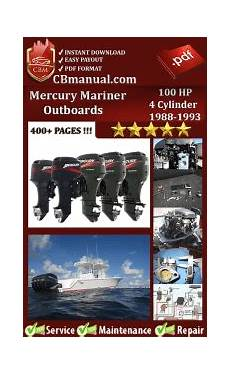 free online car repair manuals download 1989 mercury cougar electronic throttle control mercury mariner outboard 100 hp 4 cylinder 1989 service manual free download service repair