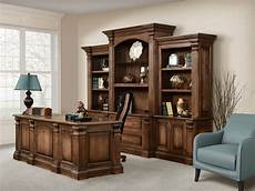 real wood home office furniture fairbanks solid wood executive bookcase in 2019 home