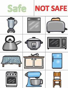 kitchen safety worksheets and activities pack best of