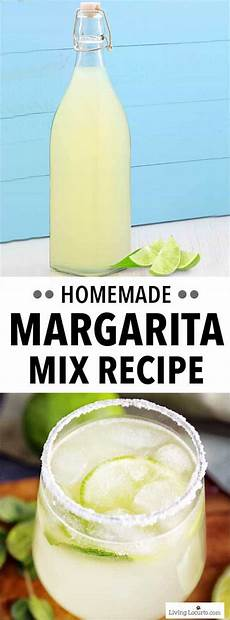 margarita mix easy homemade recipe for the best margaritas