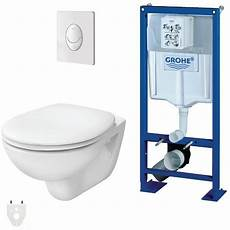 pack wc suspendu grohe autoportant packgroheautoportant
