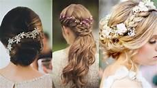 robe de fete de fin d ée coiffure de mariage 25 id 233 es de coiffure pour la mari 233 e