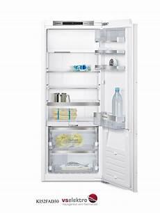 kühlschrank mit gefrierfach siemens siemens einbau k 252 hlschrank ki52fad30 mit vitafresh und