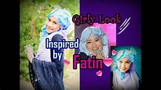 Tutorial Pashmina Glitter Inspired By Fatin