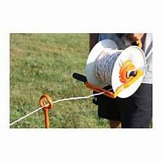 geared maxireel for portable fencing item 45512