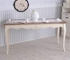 Grosser Esstisch Shabby Chic Tisch Tafeltisch Holztisch