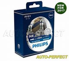 authentic philips racing vision 150 brighter h4 9003 60