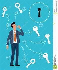 find the right key stock vector illustration of keys 49640627