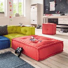 sofa für kinderzimmer kindersofa cushion sofa element b bodenkissen
