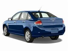 Image 2008 Ford Focus 4 Door Sedan SE Angular Rear