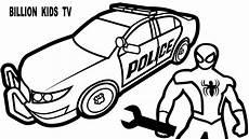 Ausmalbilder Polizeiauto Car Drawing At Getdrawings Free