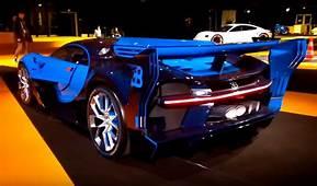 Bugatti Vision Gran Turismo Roars To Life In Paris