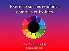 ppt exercice sur les couleurs chaudes et froides