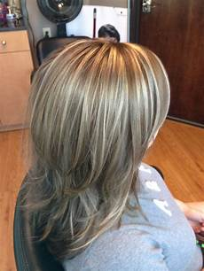 highlights lowlights layered hair hair with roots blond hair with