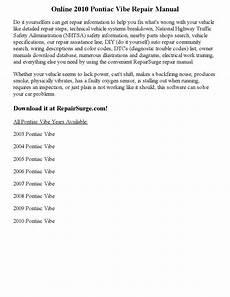 online car repair manuals free 2006 pontiac vibe instrument cluster 2010 pontiac vibe repair manual online by part george issuu