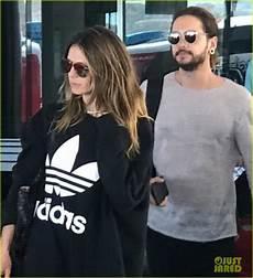 heidi klum tom kaulitz mexico heidi klum new boyfriend tom kaulitz arrive in mexico