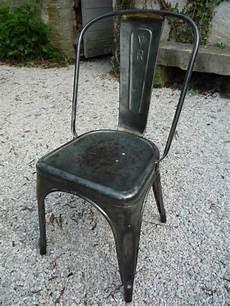 chaise tolix a metal atelier industriel loft 1950