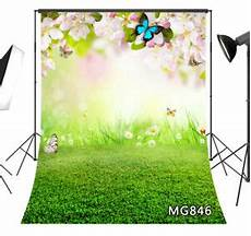 5x7ft Grass Flower Colorful Nature Vinyl by Vinyl Studio Backdrop Background 5x7ft Flowers
