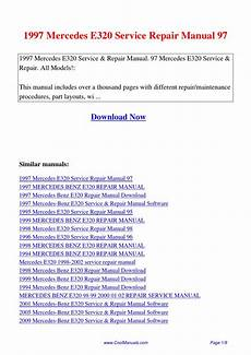 car service manuals pdf 1997 mercedes benz c class navigation system 1997 mercedes e320 service repair manual 97 pdf by linda pong issuu