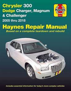online service manuals 2006 dodge magnum regenerative braking chrysler 300 dodge charger magnum repair manual 2005 2018 haynes