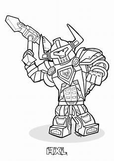 ausmalbild lego nexo knights lego nexo knights