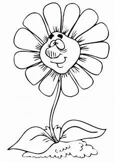 Malvorlagen Blumen Mit Gesicht Ausmalbilder Fr 252 Hling 3 Ausmalbilder