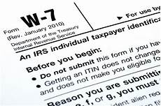 itin individual tax identification number acceptace agt yyc